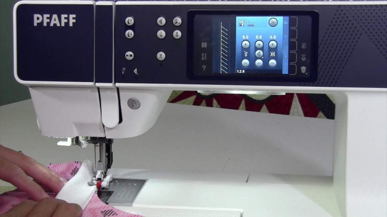 Máquina de coser electrónica Pfaff Performance 5.0: Amazon.es: Hogar