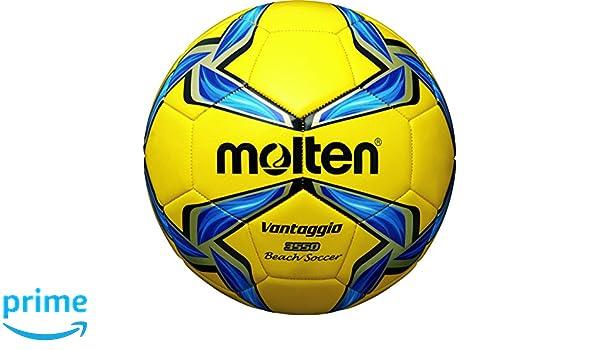 MOLTEN Beachsoccer - Balón de fútbol, Color (Gelb/Blau/Silber ...