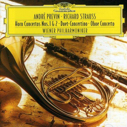 CD : André Previn - Horn Concertos Nos 1 & 2 Duett Concertino Oboe (CD)