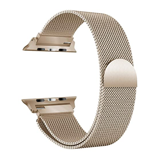 Correa de Reloj para Apple Watch Series 4 44MM,❤️Amlaiworld Banda de Reloj magnética milanesa de Acero Inoxidable Correas de Repuesto Pulseras Correa ...