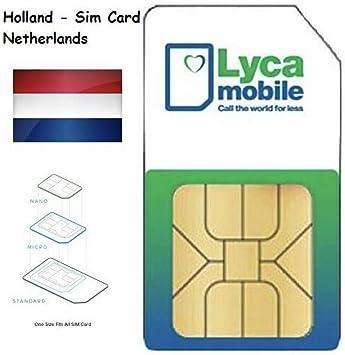 Plug Play Carte Sim Lycamobile Nl Hollande Payg Prepaye Lyca Netherlands Mobile Avec Itineraire Libre Ue Amazon Fr High Tech