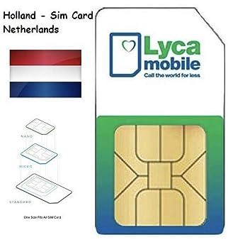 Plug & Play: Lycamobile NL Holland: Amazon.es: Electrónica
