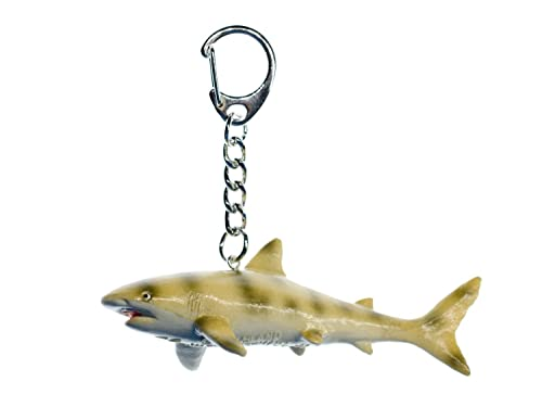 Miniblings Tigerhai Schlüsselanhänger Anhänger Schlüsselring Fisch ...
