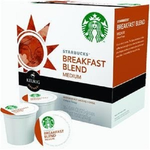 Starbucks Breakfast Blend, K-Cup Portion Pack for Keurig K-Cup Brewers, 16-count (Pack of 10) by Starbucks