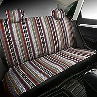 SHAKAR Universal Delux Baja Blanket Car Seat Covers Full Set 5 Seats
