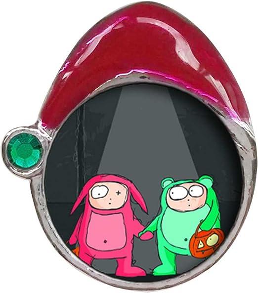 Feliz Halloween conejo disfraz de rana verde esmeralda verde de ...