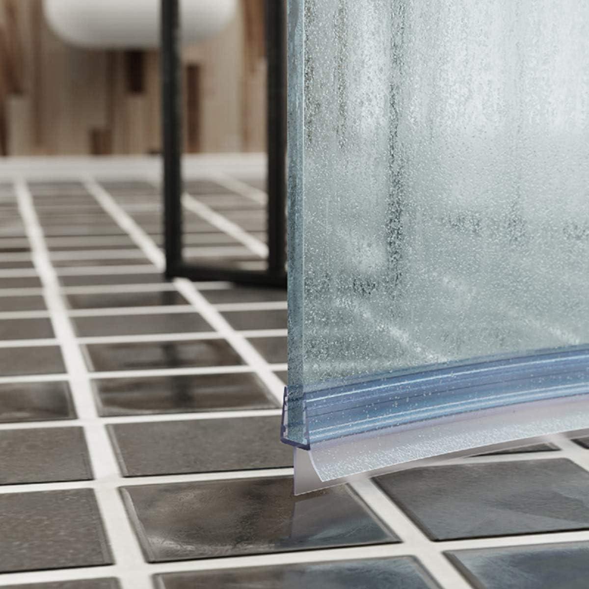 STEIGNER 140cm Joint de douche arrondi courb/é pour les vitres d/'une /épaisseur 3,5 mm// 4 mm// 5 mm UK13