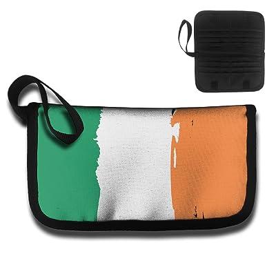 Flag Of Ireland Travel Wallet Passport Holder Document Organizer