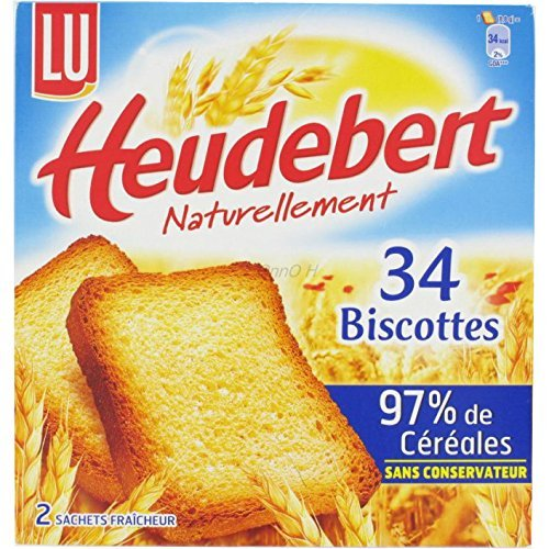Lu - Biscottes Heudebert (French Rusks) from France 10.6oz ()