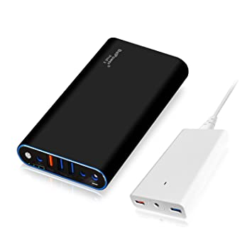 BatPower ProE 2 EX7B Power Bank Cargador portátil Batería Externa para Apple Macbook Pro Macbook Air Mac Retina 2006-2015 Laptop, QC 3.0 USB para ...