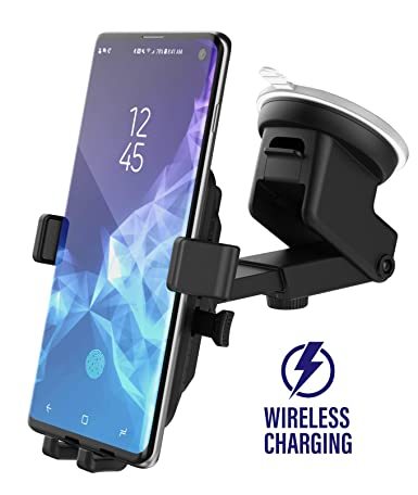 Encased Wireless Charging Car Charger Mount for Samsung Galaxy S10, S10 Plus, S10e/Note 10 (Qi Enabled) Fast Charging Vehicle Phone Holder Charger ...