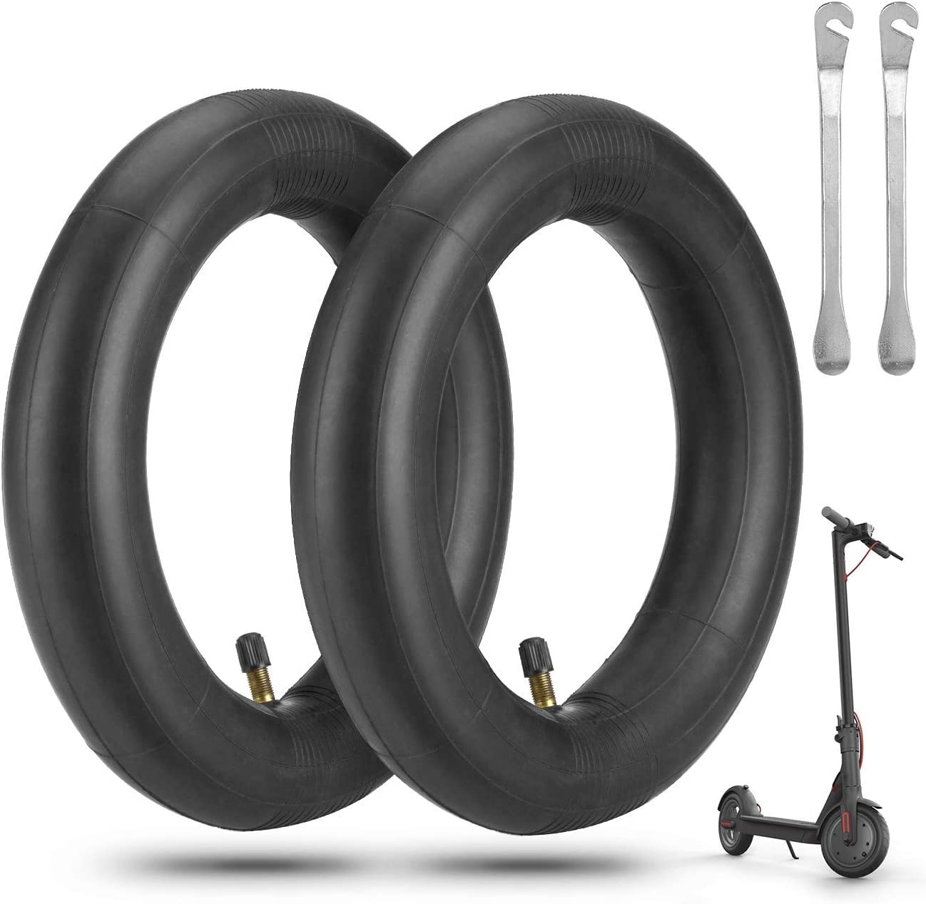 Inner Tube 1pc 8.5 Inch Thick Black Spare Accessories For Xiaomi M365pro Durable