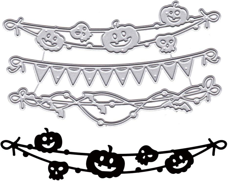 Halloween Banners Cutting Dies