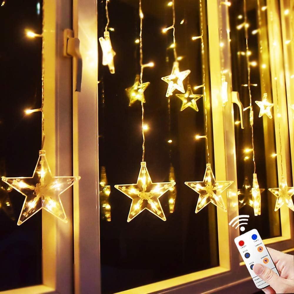 Supplies Star Curtain Light Christmas Lamp LED String Light Fairy Lights