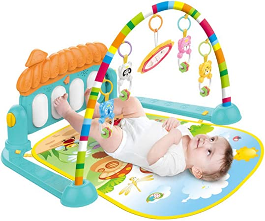 H ULÁN Gimnasio Bebes con Música Activity Gym con Piano