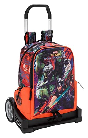 Thor Ragnarok Mochila con Carro Ruedas Evolution, Trolley