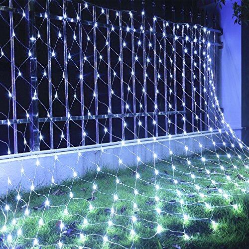 Pure White Led Net Christmas Lights - 2