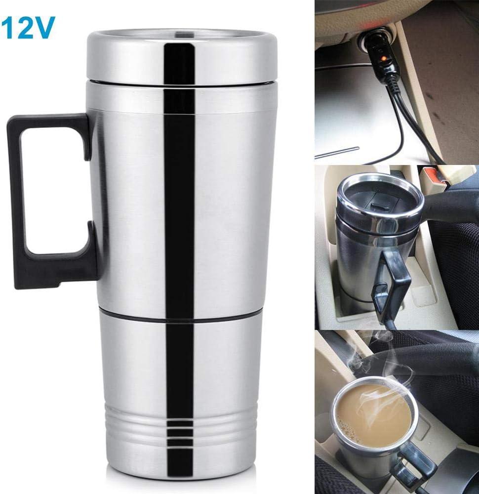 En acier inoxydable Tasse de Voyage tasse froide ou chaude couvercle amovible bon pour café chauffée
