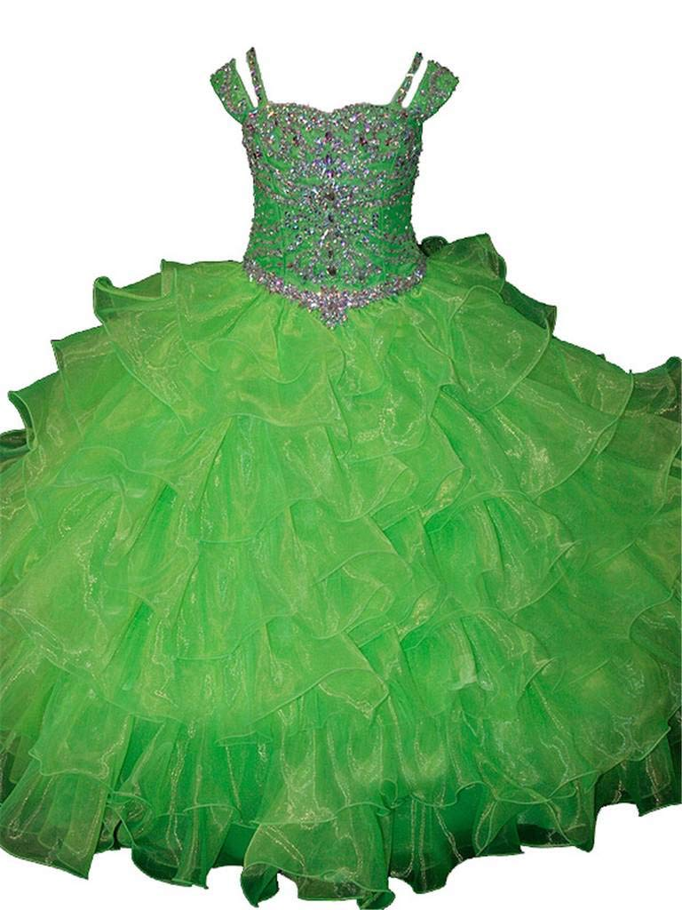 Lime Green Ball Gown Dresses: Amazon.com