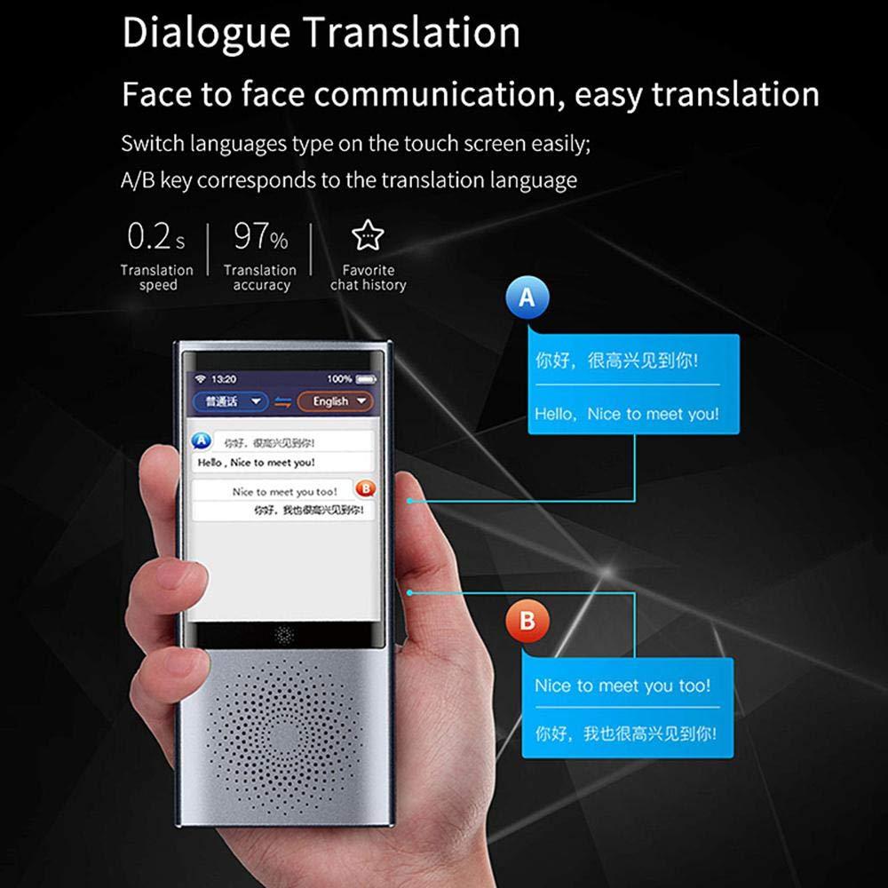 2,8 Zoll Touchscreen 91 Sprachen Zwei-Wege Echtzeit Sofortige /Übersetzung /über Mobiler WLAN-Hotspot Deutsche Systemsprache Grey, W1 lite Ceepko Sprach/übersetzer Mit HD Kamera/übersetzung