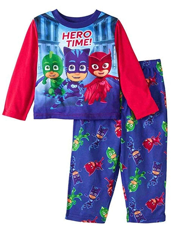 2-Piece Pajama Pants Set Size 4T PJ Masks Hero Time