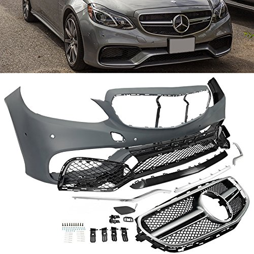 W212 S212 2014-2016 E Class Front Bumper Body Kit 63 AMG Style Grille Amg Body Kits