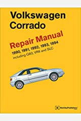 Volkswagen Corrado (A2) Repair Manual: 1990-1994 Hardcover