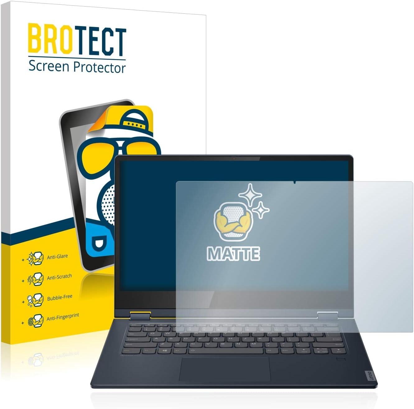 15 Pelicula Mate Anti-Huellas BROTECT Protector Pantalla Anti-Reflejos Compatible con Lenovo IdeaPad 530s