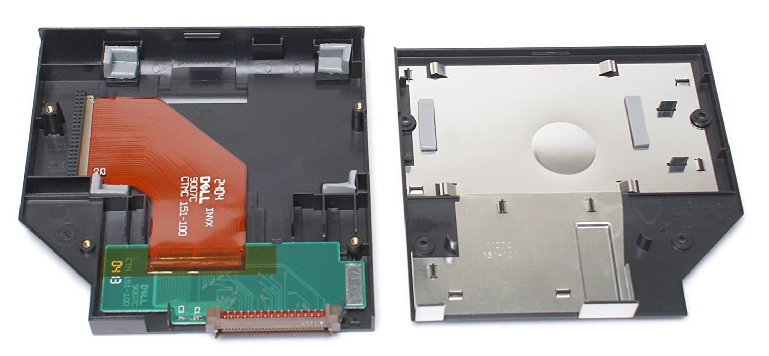 Genuine Dell 29mfn Second Hard Drive Black Media Bay Removing And Replacing Parts Latitude C600 C500 Series Service Carrier Caddy This Is For The Only Does Not Includ Or Screws