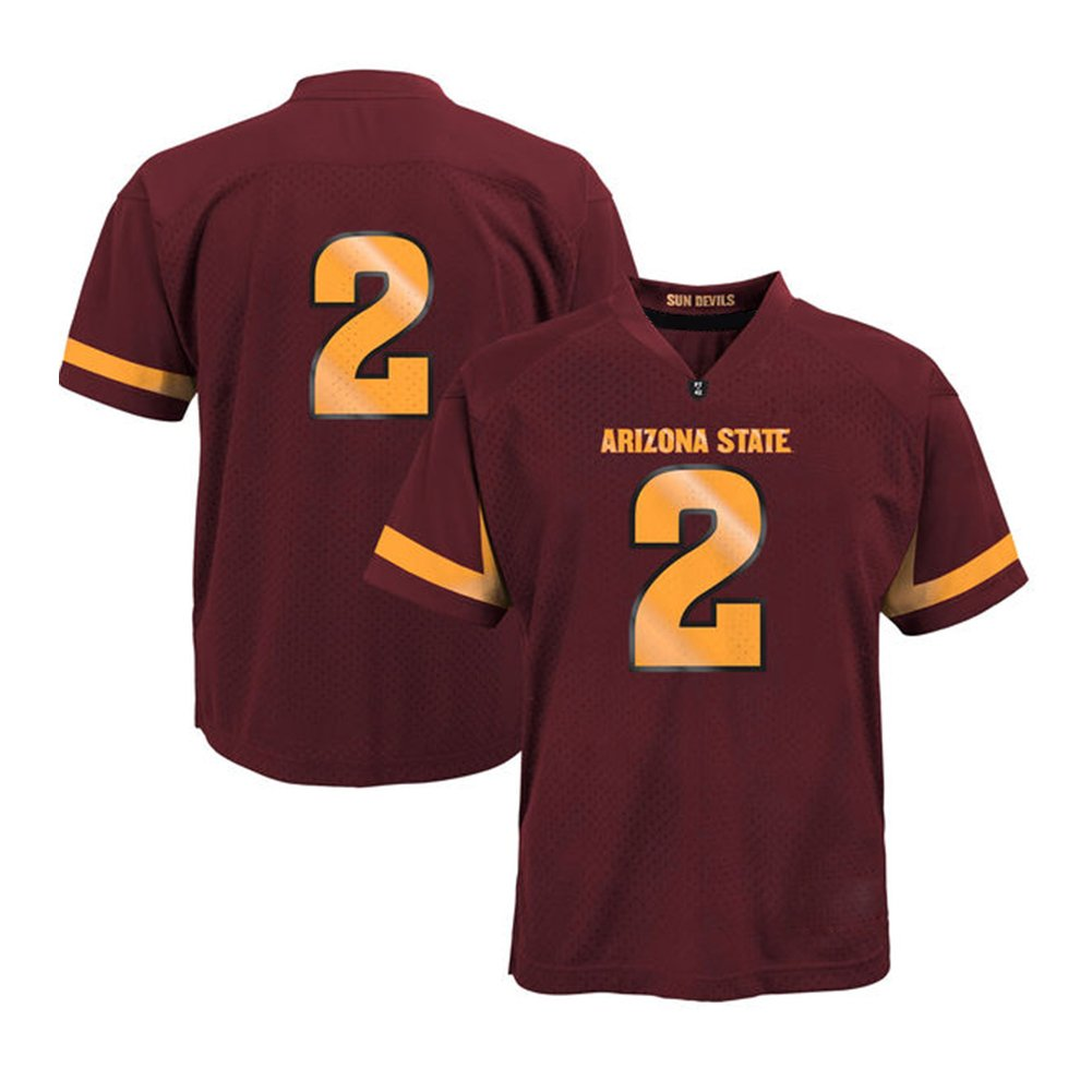 promo code 5d14a 8edad NCAA Preschool #2 Maroon Arizona State Sun Devils College ...