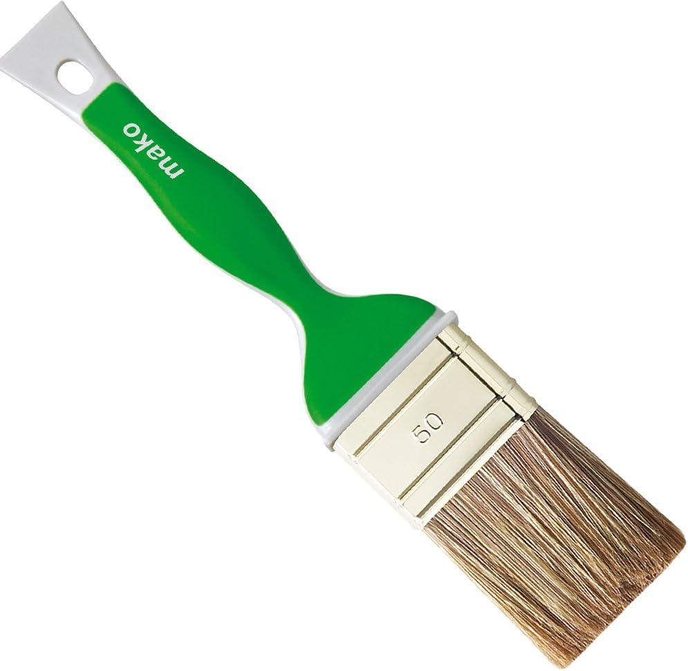 Juego de 3 pinceles planos 60 mm calidad de pintura cerdas mezcla 35 mm 50 mm