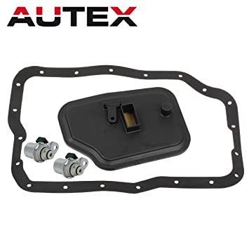 AUTEX 4F27E FN4AEL Transmission Shift Solenoid A&B Filter Kit Replacement  For Ford C-Max 2013 2014/Ford Focus 2000-2012 /Ford Transit Connect
