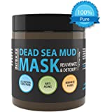 Derma-nu Miracle Skin Remedies Pure Dead Sea Mud Mask for Face - Rejuvenating & Detoxifying - Pore Cleansing Anti Aging Natural Face Mask, For Women and Men - No Fillers or Additives 400g 14.11fl oz