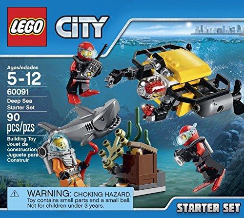 LEGO City Deep Sea Explorers Starter Set (90pcs) Figures Building Block Toys