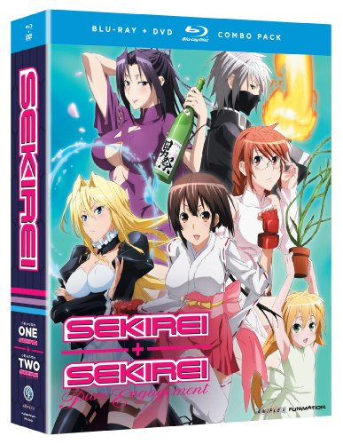 Sekirei: Complete Series (Blu-ray/DVD Combo) by Funimation