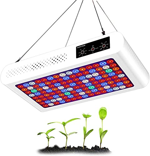 1200W LED Grow Light, with UV IR, Timed dimming Switch Plant Light for Indoor Plants Veg Flowers Grow Lighting