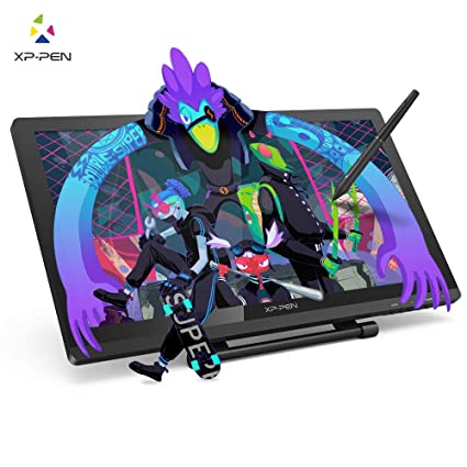 XP-PEN Artist22 Pro Drawing Pen Display 21 5 Inch Graphics Monitor  1920x1080 FHD Digital Drawing Monitor with Adjustable Stand and PN02S  Stylus (8192
