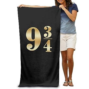 "Harry Potter plataforma 9 3 4 oro Logo 31,5 ""51"" toalla"