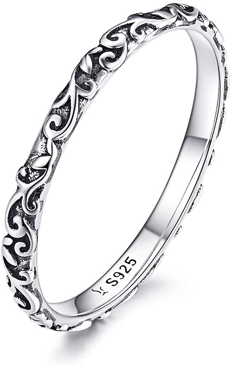 The Best Sterling Silver Nature Scene Band