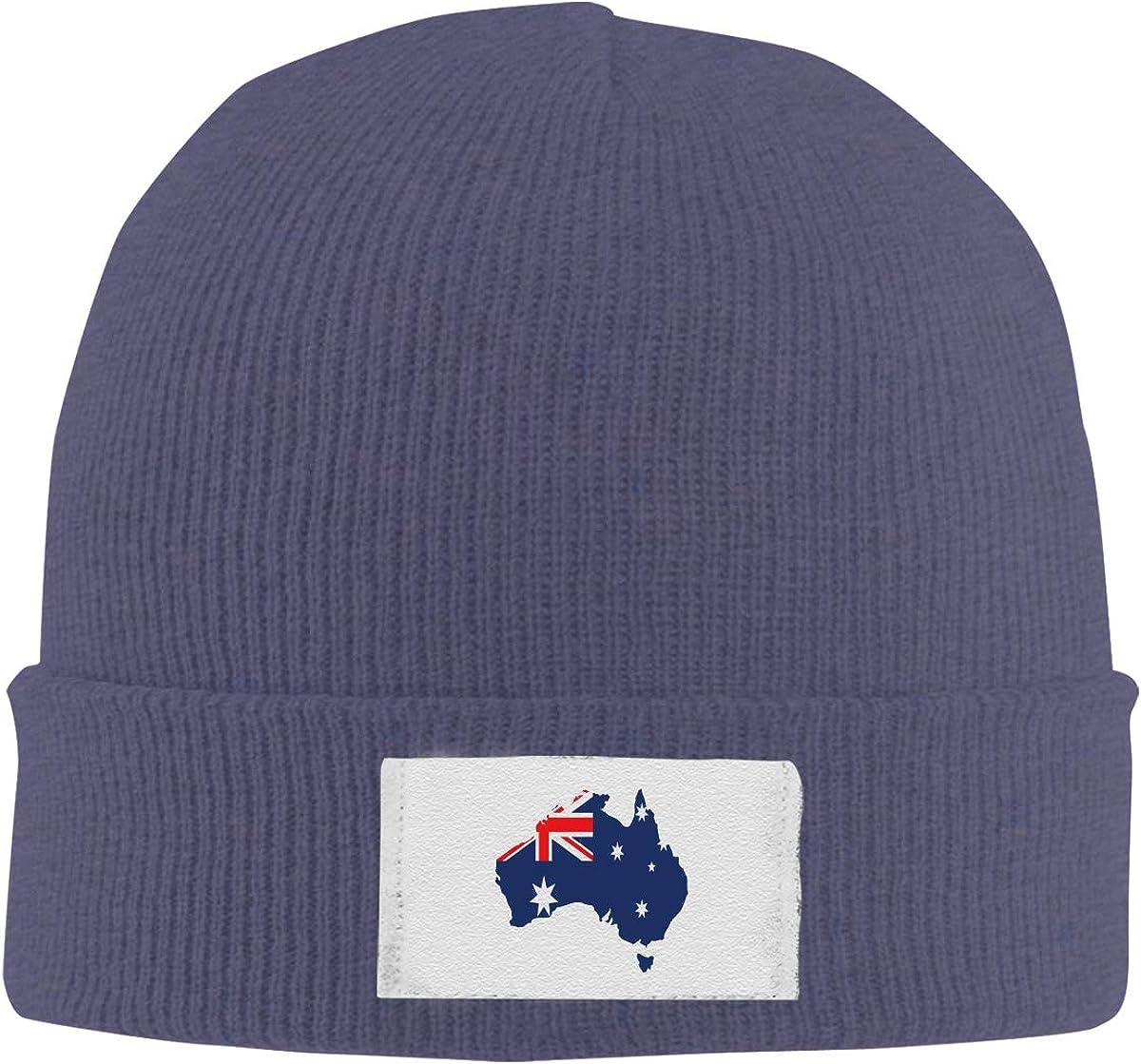Stretchy Cuff Beanie Hat Black Dunpaiaa Skull Caps Rhinoceros Winter Warm Knit Hats