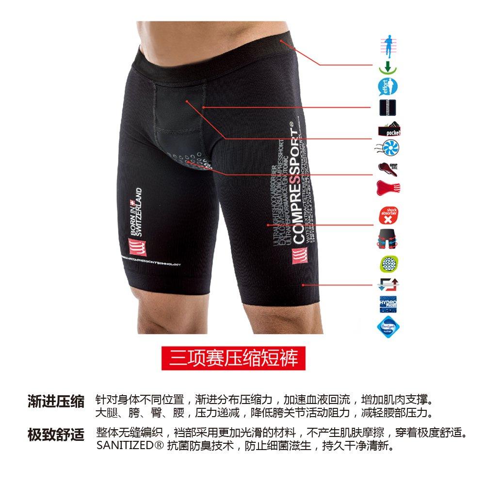 Compressport Triathlon Short de compression Homme