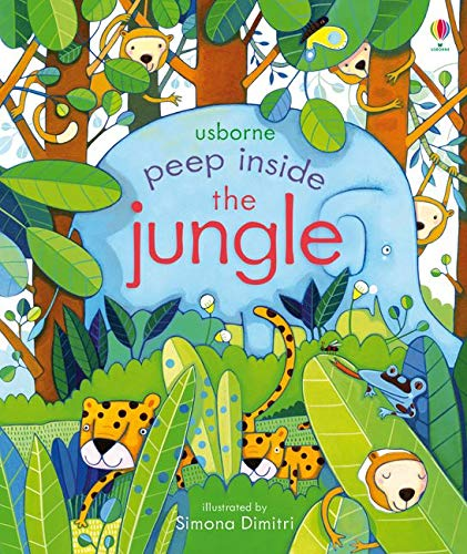 Peep Inside the Jungle: 1 Board book – 1 Jan. 2017