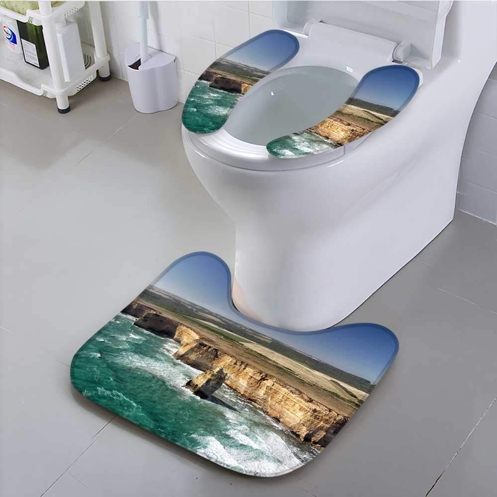 UHOO2018 Universal Toilet seat The Twelve Apostles at The Great Ocean Road in The Port Convenient Safety and Hygiene