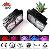 Eonstar® 300W Full Spectrum LED Grow Light Matrix SP300 with Smart Wired Controller VEG, FLOWER, UV Mode, 3w Chips Aluminum Material