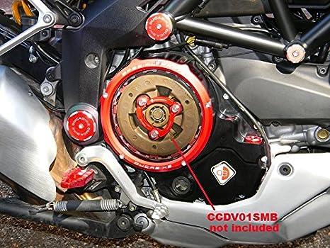 Tapa Negro/Rojo Duca Bike para ölbadkupplung embrague para DUCATI: Amazon.es: Coche y moto