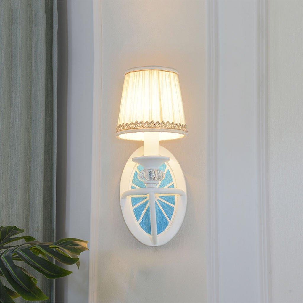 Unbekannt CHENGYI Wandlampe, Mittelmeer Kreative Pastoralen Persönlichkeit Wandleuchte Wohnzimmer Schlafzimmer Nacht Kinderzimmer Korridor Gang Dekoration Nachtlicht