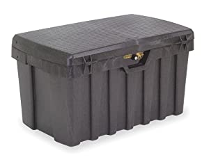 "Contico 3725 37"" Portable Tool Box, Black"