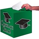 Creative Converting Card Holder Box, One Size, Emerald Green