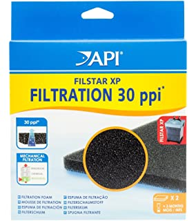 API Filstar XP Filter Filtration Foam 30, 2-Count