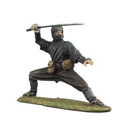 Amazon.com: Ronin Miniatures Ninja Shinobi Hand Painted Tin ...